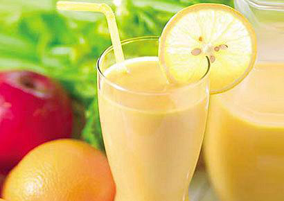 Image result for اسموتی لیمو – پرتقال